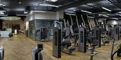 STAR TRAC health club - Brno